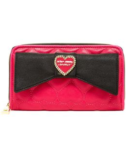 Large Bow Wallet