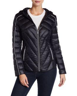Missy Short Hooded Down Jacket