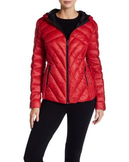 Missy Short Hooded Down Jacket