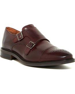 Bishop Cap Toe Double Monk Strap Shoe