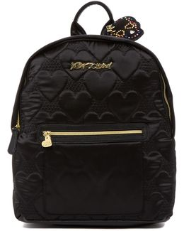 Quilted Hearts Backpack