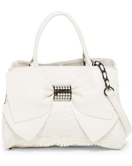 Pearl Of A Girl Satchel