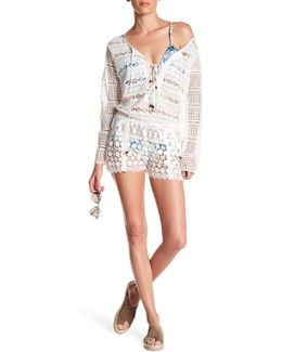 Long Sleeve Lace Romper