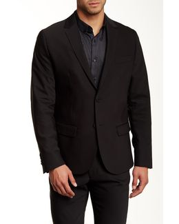 Slim Fit Two-button Blazer