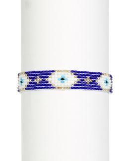 Mia Loomed Bead Bracelet