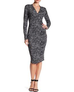 Hadley Long Sleeve Tuck Dress