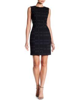 Patchwork Sheath Dress