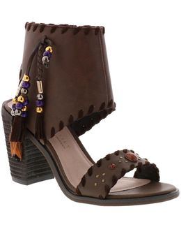 Boho Tassel Cuff Sandal