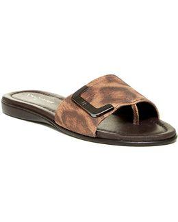 Bolt Slide Sandal