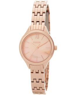 Women's Round Bracelet Watch