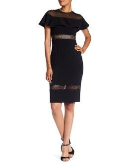 Ruffle Popover Dress