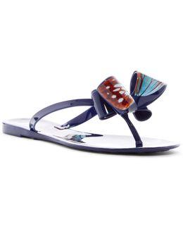 Butterfly Bow Flip-flop