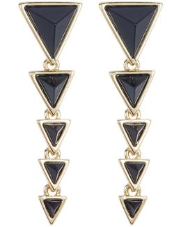Meteora Pyramid Linear Earrings