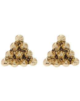 Cerro Torre Pyramid Stud Earrings