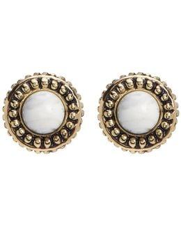 Cuzco Howlite Stud Earrings