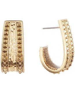 Studded Cuff Earrings