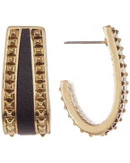Studded Cuff Earrings
