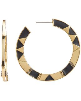 44mm Nelli Hoop Earrings