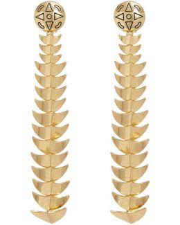Dorado Long Drop Earrings