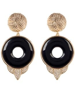 Drop Rostron Stone Statement Earrings