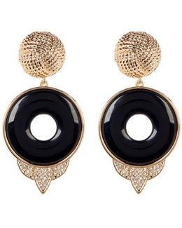 Drop Rostron Stone Statement Earrings