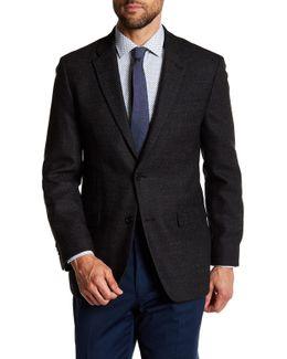 Bray Hopsack Two Button Notch Lapel Wool Sportcoat