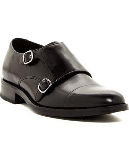 Madison Double Monk Strap Cap Toe Shoe