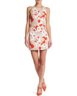 Comse Printed Shift Dress