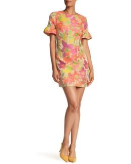 Darling Floral Ruffle Dress