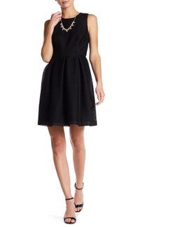 Savannah Cutout Fit & Flare Dress