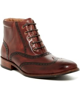 Williams Wingtip Boot - Wide Width Available