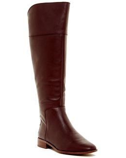 Roselle Leather High Boot