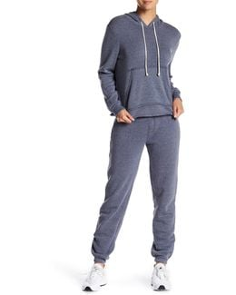 Eco Fleece Zip Joggers