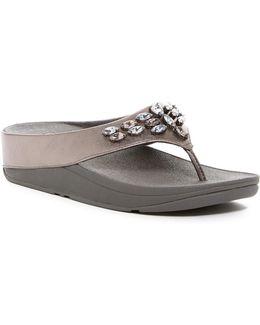 Tirarama Thong Wedge Sandal