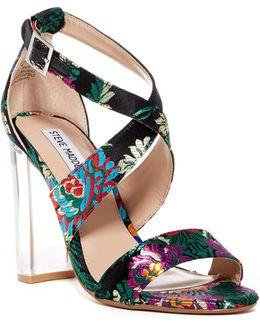 Cascade Block Heel Sandal