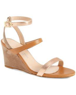 Cassie Strappy Wedge Sandal