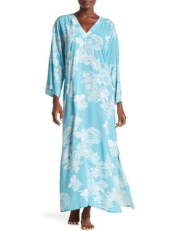 Reign Of Flowers Caftan Nightgown