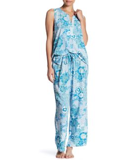 Floral Oasis Pj 2 Piece Set