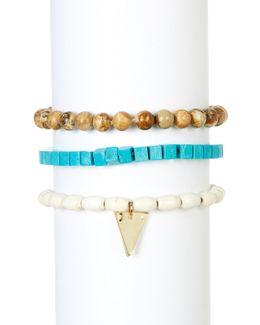Turquoise Tiger Eye Bracelet