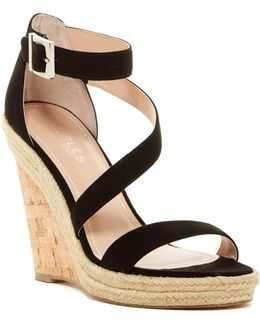 Becki Platform Wedge Sandal