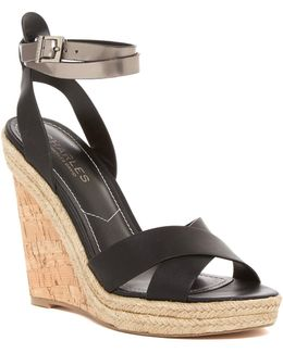 Brit Wedge Platform Sandal