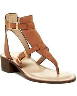 Calvin Block Heel Sandal