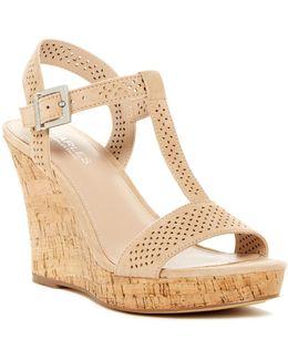 Law Wedge Sandal