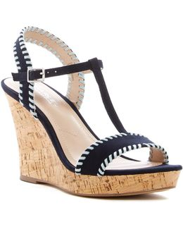 Lip Wedge Sandal