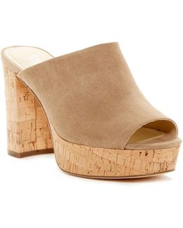Miley Block Heel Sandal