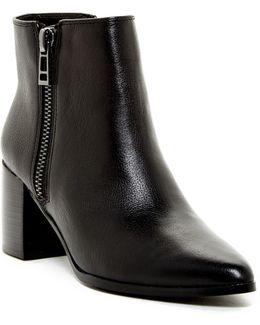 Uma Zip Ankle Boot