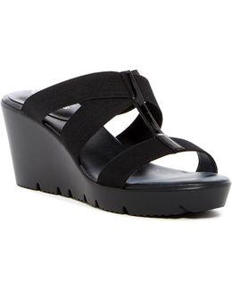 Veep Wedge Sandal