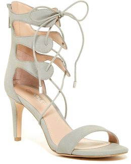 Zone Lace-up Heeled Sandal