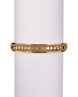 Chain Fringe Open Cuff