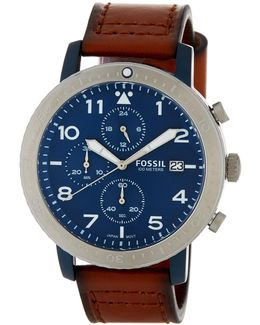 Men's Townsman Automatic Leather Watch